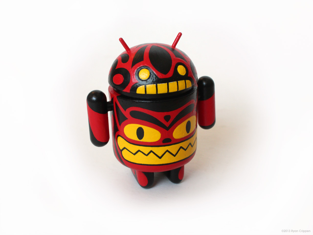 Reactor-88 Demon Totem Android - Front