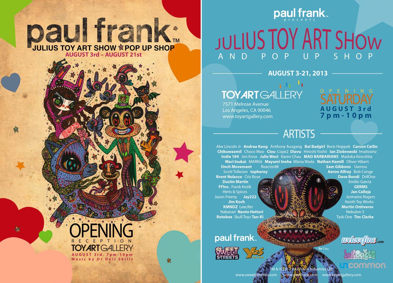 Paul Frank Show Flyer