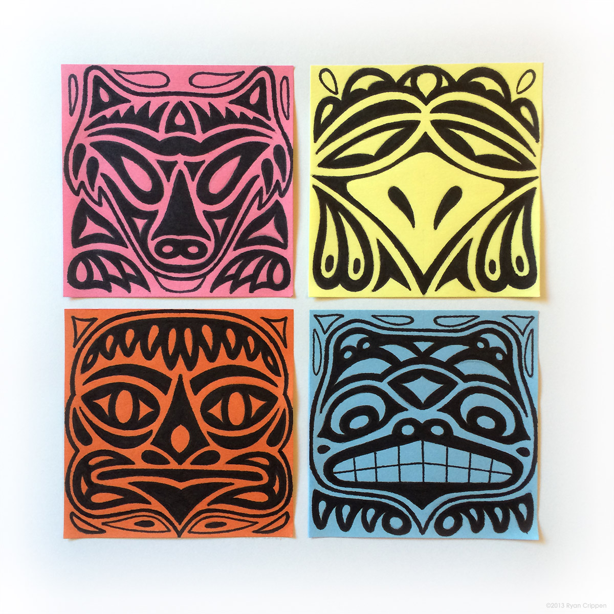 Totem Post-its