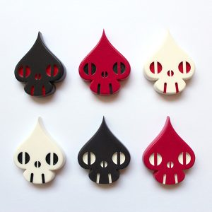 Spade-Skull Magnet Set : Reactor-88 Store