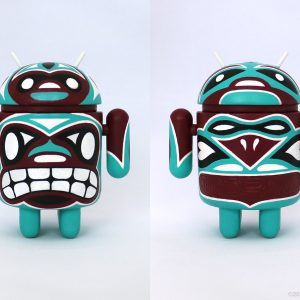 Aqua Maroon Totem Android : Reactor-88 Store