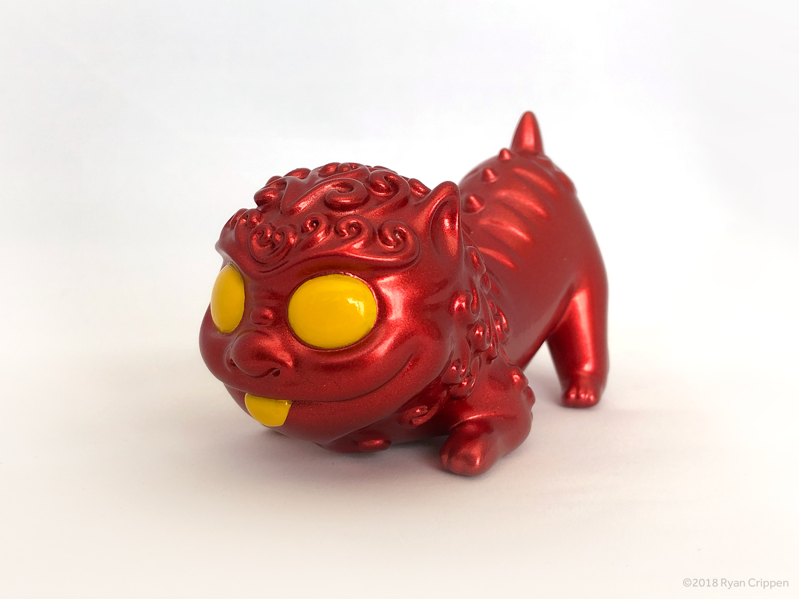 Foo Pup – Metallic Red Edition