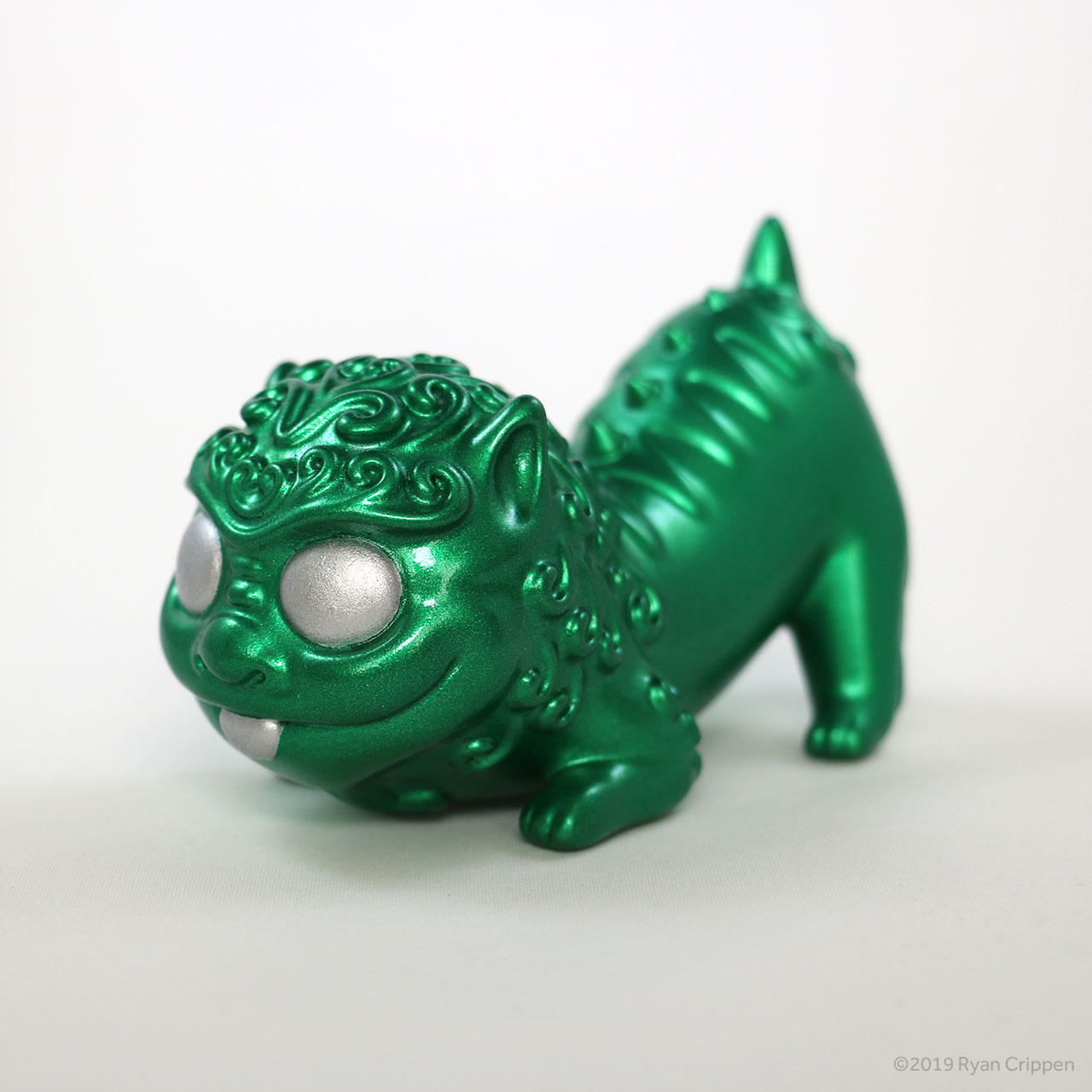 Foo Pup – Metallic Green Edition